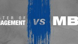 MBA vs MSc Business and Management in UK