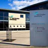 York St John University Fountains Learning Centre York Yorkshire UK