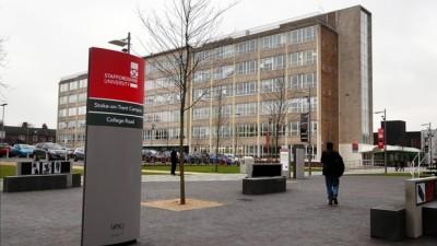 University of Staffordshire IELTS น้อยก็เข้าได้
